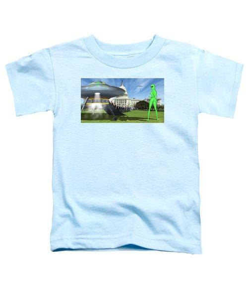 Wip - Washington Field Trip Toddler T-Shirt by Mike McGlothlen