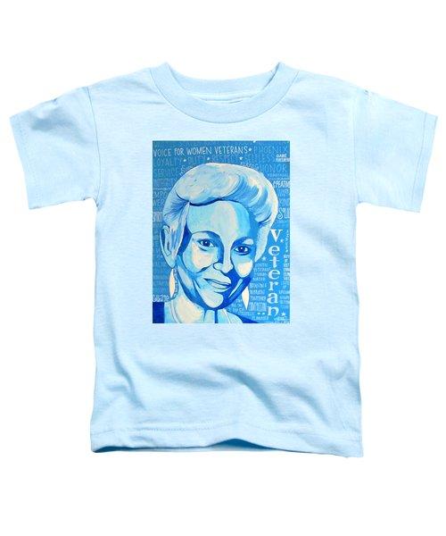 Woman Veteran Gabe Toddler T-Shirt