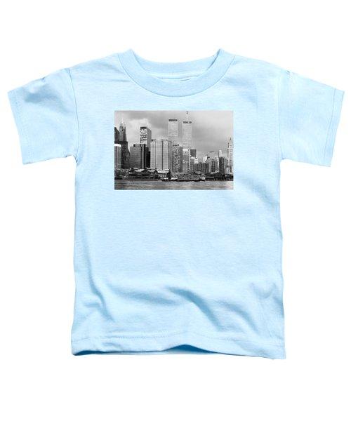 New York City - World Trade Center - Vintage Toddler T-Shirt