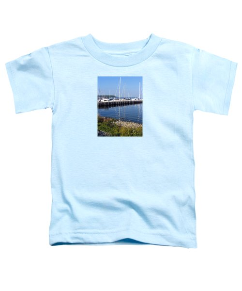 Yachtworks Marina Sister Bay Toddler T-Shirt