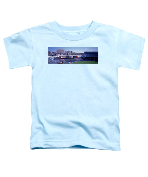 Yankee Stadium Ny Usa Toddler T-Shirt by Panoramic Images