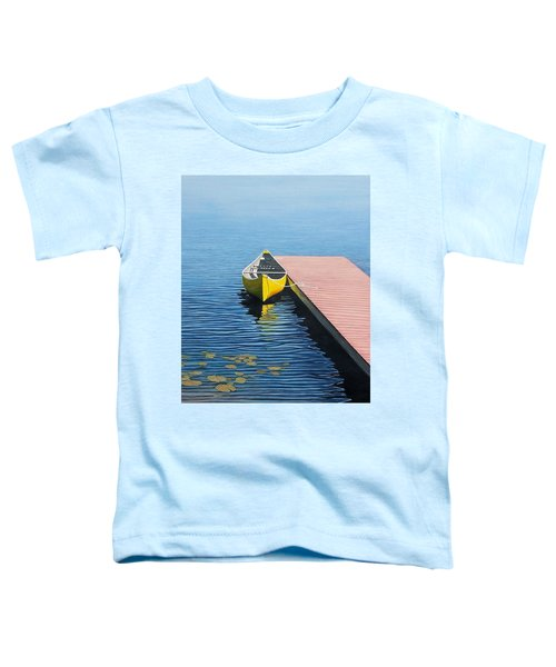 Yellow Canoe Toddler T-Shirt