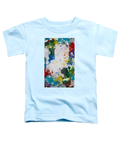 Yes Abstract Toddler T-Shirt