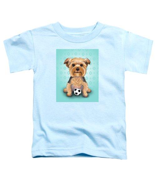 Yorkie  Baxter Hemenway Toddler T-Shirt