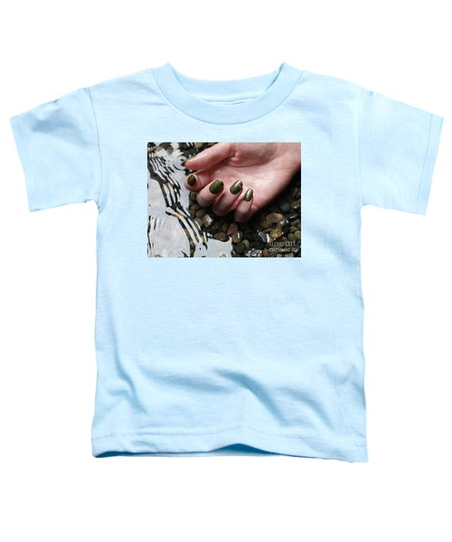 Woman Hand In Water Toddler T-Shirt