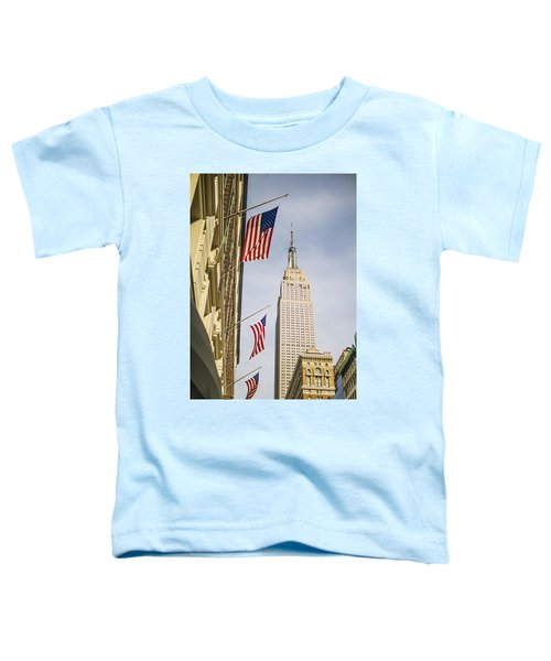 Empire State Building Toddler T-Shirt