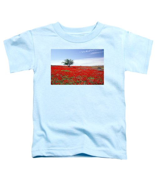 A Tree In A Red Sea Toddler T-Shirt