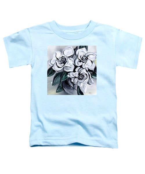 Abstract Gardenias Toddler T-Shirt