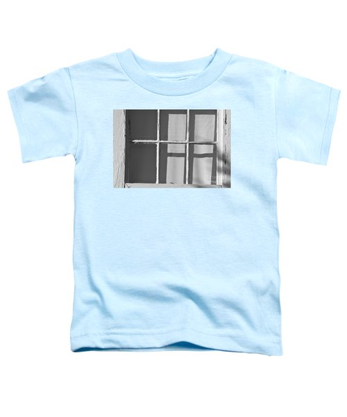 Abstract Window In Light And Shadow Toddler T-Shirt