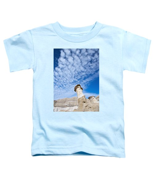 Angled Hoodoo And Clouds Toddler T-Shirt
