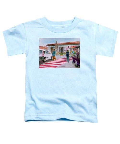Bar Ristorante Mt. Etna Sicily Toddler T-Shirt