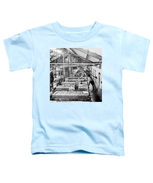 Beet Sugar Factory In Greeley Colorado - C 1908 Toddler T-Shirt