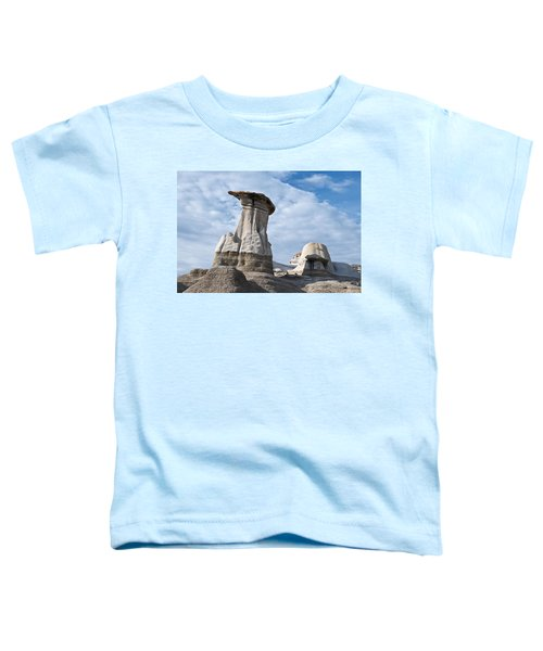Capped Hoodoo And Clouds Toddler T-Shirt