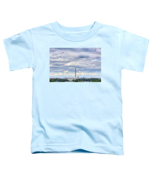 Clouds Over Washington Dc Toddler T-Shirt