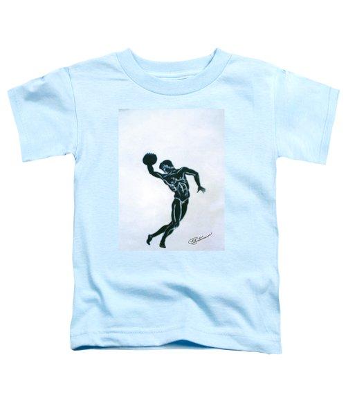 Disc Thrower Toddler T-Shirt