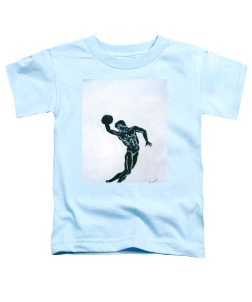 Disc Thrower Toddler T-Shirt