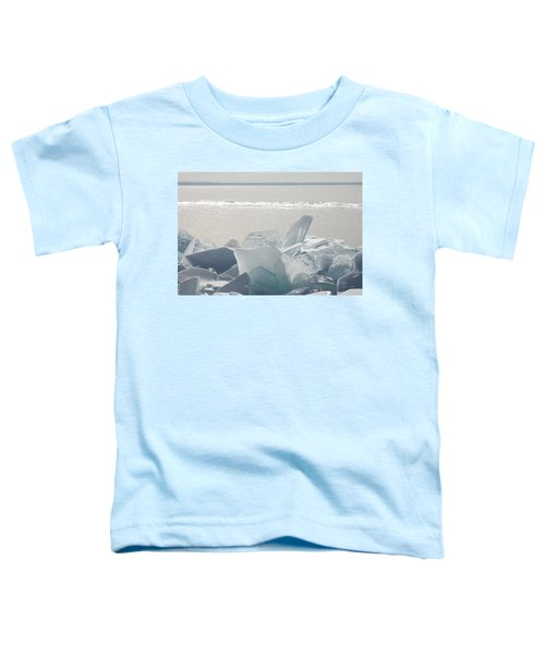 Ice Chunks On The Shores Of Lake Toddler T-Shirt