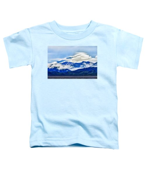 Lenticular And The Chugach Mountains Toddler T-Shirt