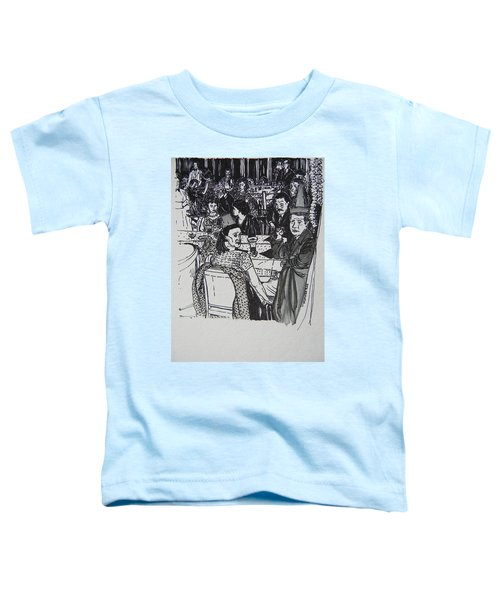 New Year's Eve 1950's Toddler T-Shirt