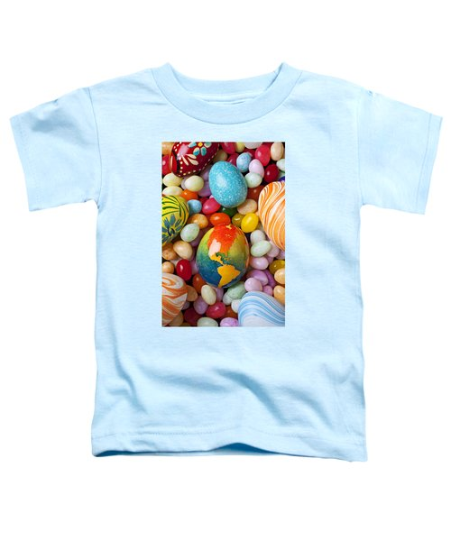 North America Easter Egg Toddler T-Shirt