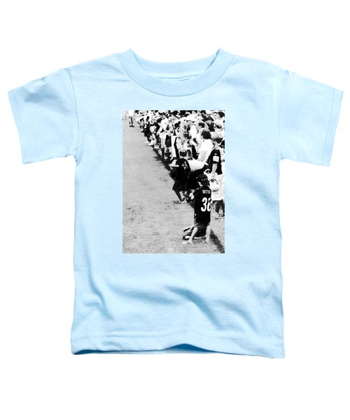 Number 1 Bettis Fan - Black And White Toddler T-Shirt