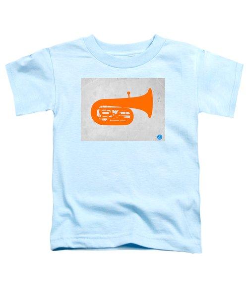 Orange Tuba Toddler T-Shirt