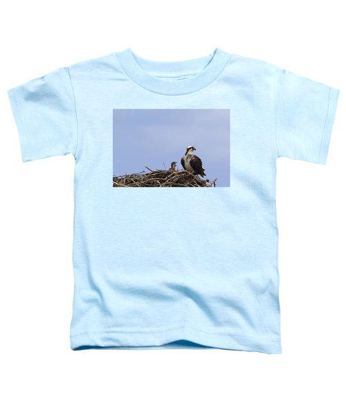 Osprey Mother And Chick Toddler T-Shirt