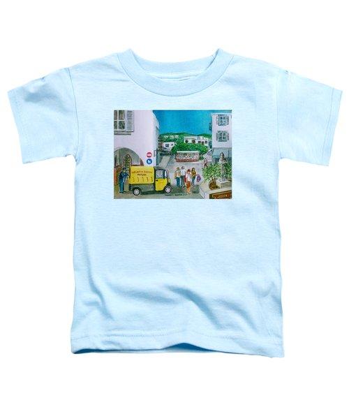 Patmos Fish Monger Toddler T-Shirt