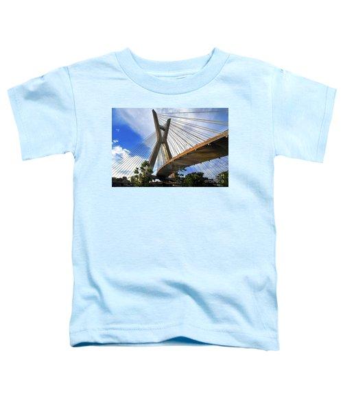 Ponte Estaiada Octavio Frias De Oliveira Ao Cair Da Tarde Toddler T-Shirt