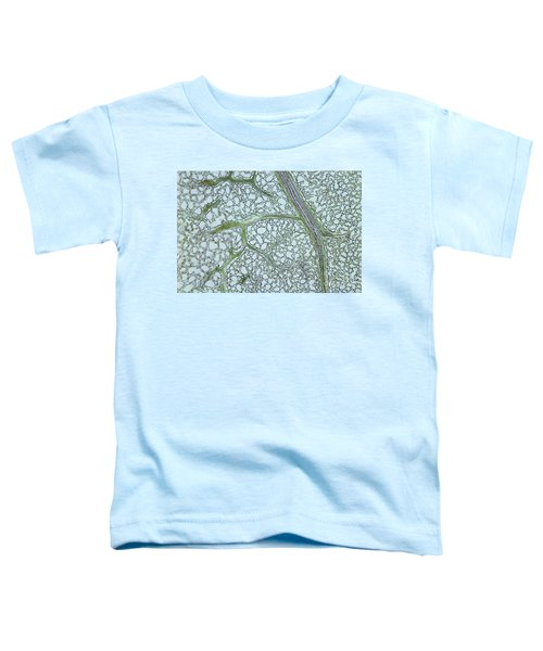 Privet Leaf Vascularization Toddler T-Shirt