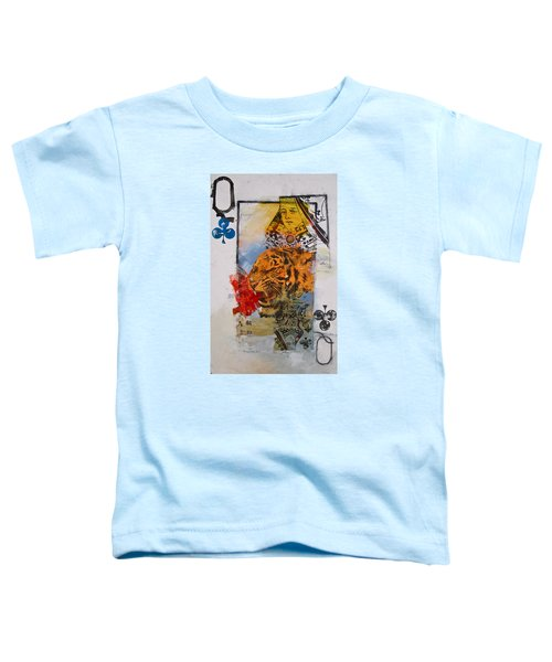 Queen Of Clubs 4-52  2nd Series  Toddler T-Shirt
