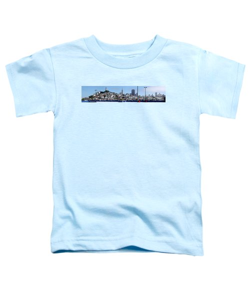 San Francisco Panorama Toddler T-Shirt