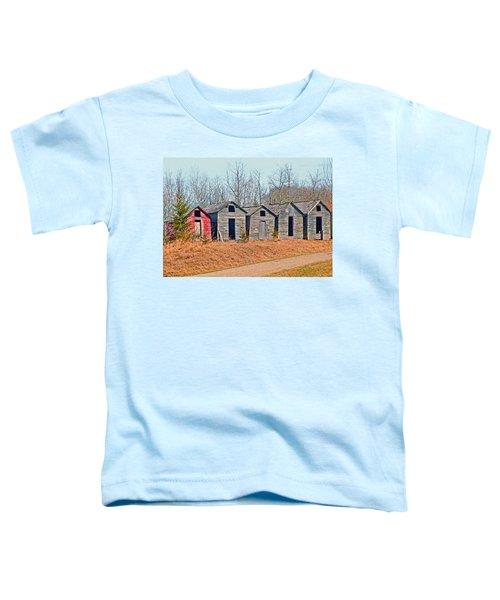 Smokehouse Row Toddler T-Shirt