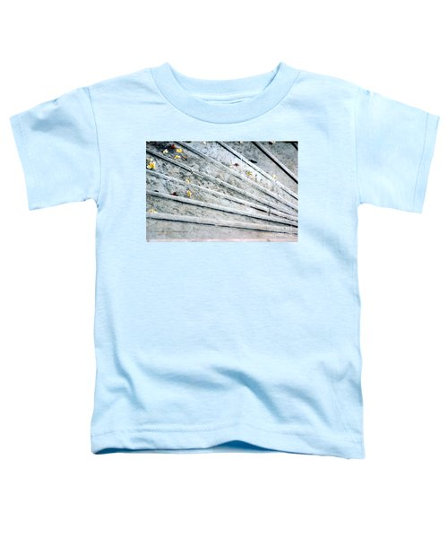 The Marble Steps Of Life Toddler T-Shirt