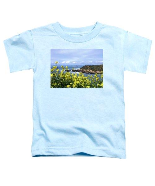 Through Yellow Flowers Toddler T-Shirt