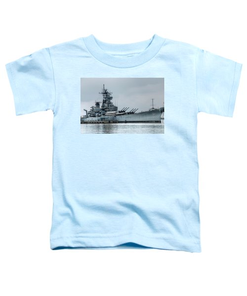 Uss New Jersey Toddler T-Shirt