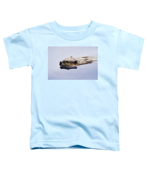 View Of Beaver, Chaudiere-appalaches Toddler T-Shirt by Yves Marcoux