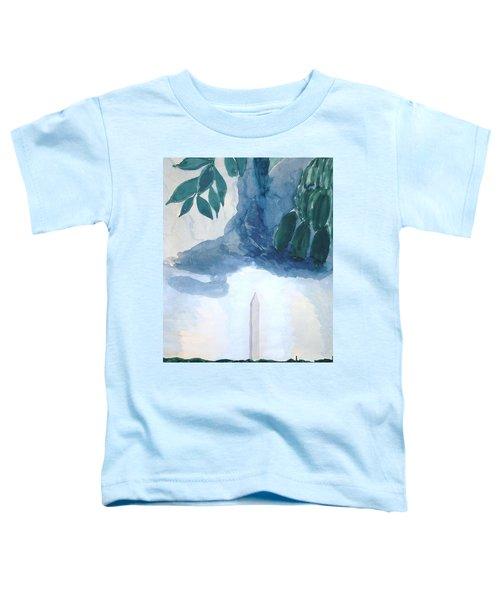 Washington Monument Toddler T-Shirt by Rod Ismay