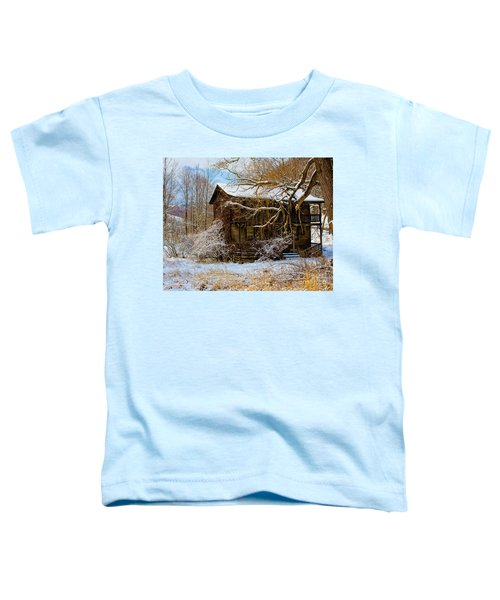 West Virginia Winter Toddler T-Shirt