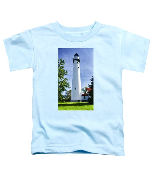 Wind Point Lighthouse Toddler T-Shirt