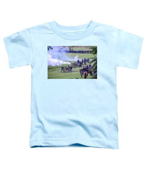 Gettysburg Union Artillery And Infantry 7439c Toddler T-Shirt