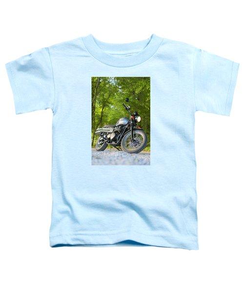 2013 Triumph Scrambler Toddler T-Shirt