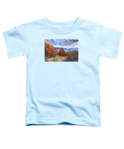 Angels Landing Toddler T-Shirt