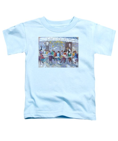 Cafe De Flore Paris Toddler T-Shirt