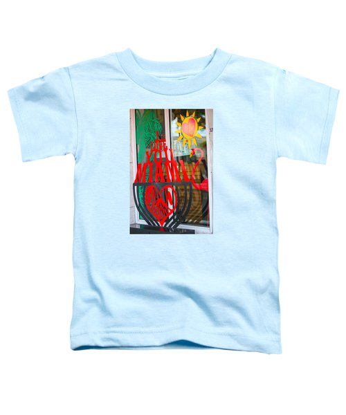 Calle Ocho Toddler T-Shirt