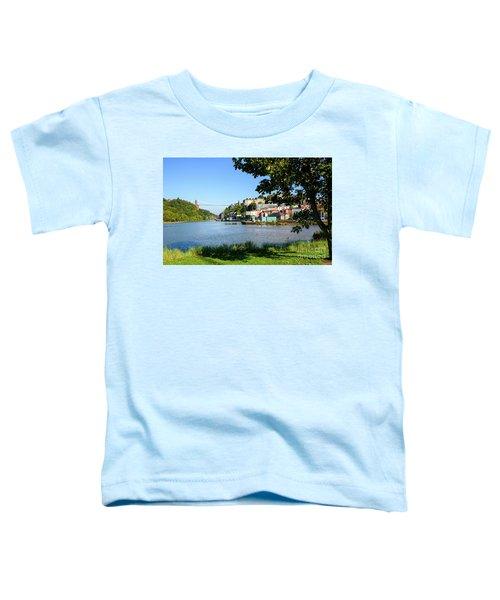 Clifton Suspenion Bridge Toddler T-Shirt