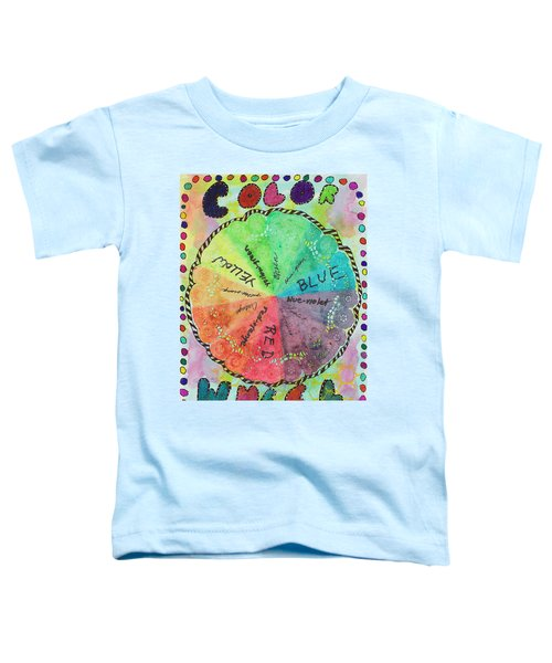 Color Wheel Toddler T-Shirt
