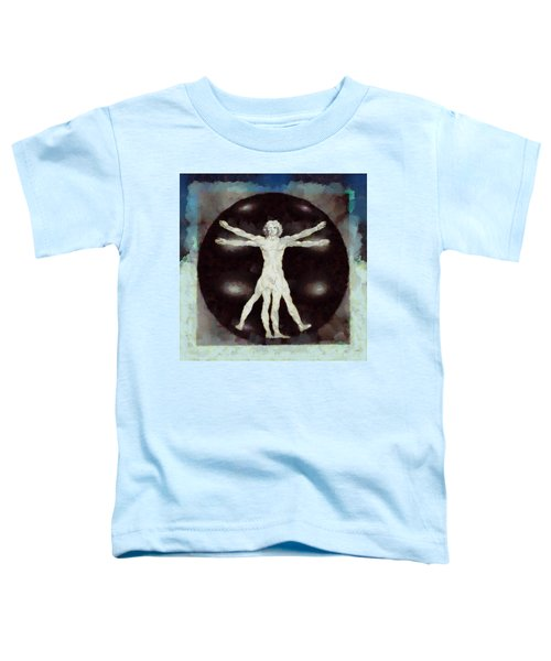 Da Vinci Dude Toddler T-Shirt