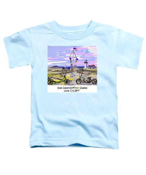 East Coast Elliptigo Classic Toddler T-Shirt