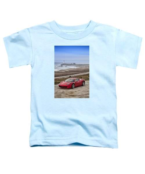 Ferrari 458 Italia Toddler T-Shirt